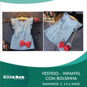 fcc50e897 MOLDE FÁCIL 136 – VESTIDO INFANTIL COM BOLSINHA